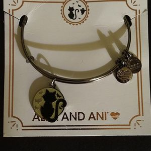 """ALEX AND ANI'S ART INFUSION """"BLACK CAT"""" BRAND NWT!"""